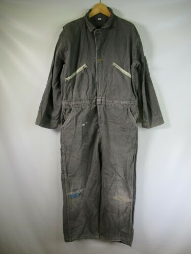E5836 VTG 50s 60s POOL'S Work Coverall Jumpsuit Si
