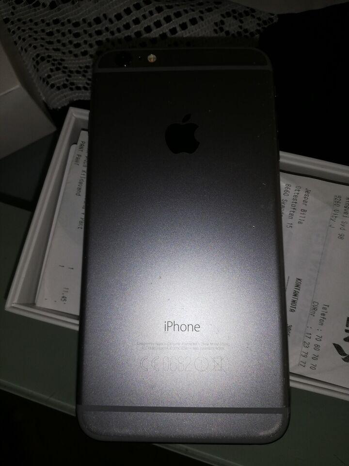 iPhone 6S Plus, 128 GB, grå