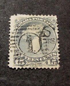 Canada-Stamp-Scott-29-Queen-Victoria-1868-76-C418