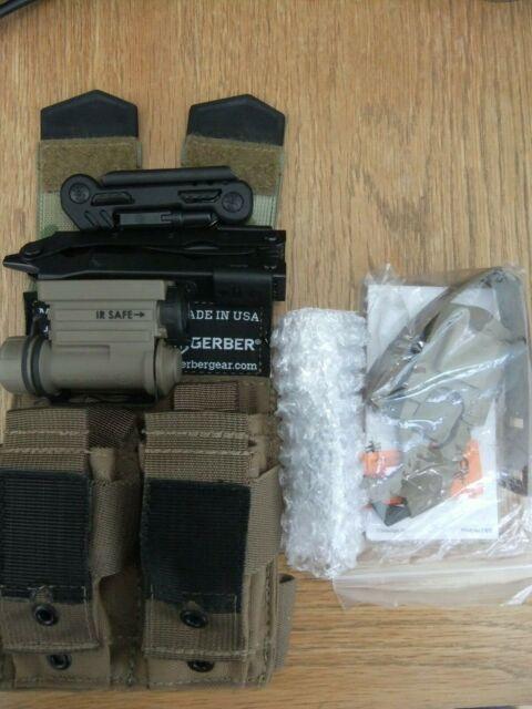 USSF Deployment kit- Sidewinder IR/3 colour torch/M4 weapon maintenance tool