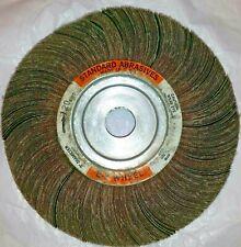KEEN Abrasives #23154 3//4 x 3//4 x 1//4 In 120 Grit 10- Pack Shank Flap Wheel