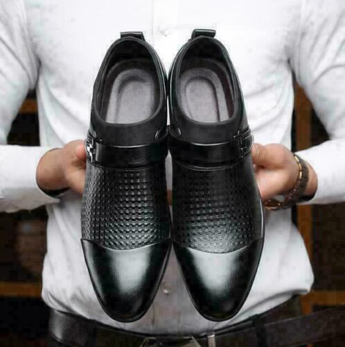 Men/'s Leather Shoes Formal Business Dress Slip On Casual Oxfords Flats Pumps New