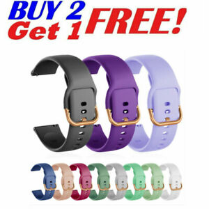 Silicone Watch Band For Samsung Galaxy Watch 4 40mm 44mm Classic 42mm 46mm Strap