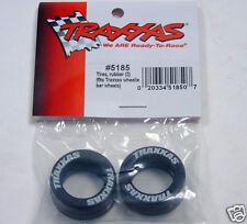 5185 Traxxas R/C Car Parts Tires Rubber (2) For: Traxxas Wheelie Bar Wheels New