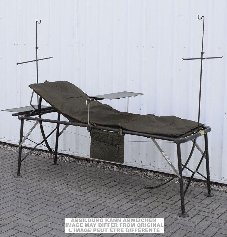 US Army Military Army Folding Cot Lit de camp Hospital Lit de camp lit Camping Chaise Longue