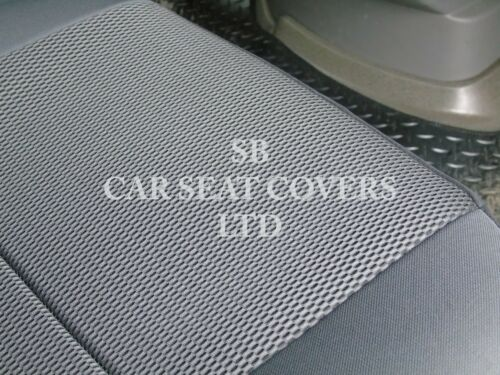 TO FIT A VAUXHALL VIVARO SPORT VAN 2013 ROSSINI BLACK SPORTS MESH SEAT COVERS