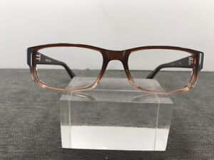 6498d93536e28 Image is loading Authentic-Matthew-Asher-Eyeglasses-53-16-140-Brown-