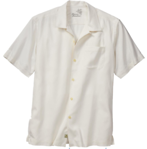 Tommy Bahama Catalina Twill Camp Shirt T312827 $99.50 Coconut