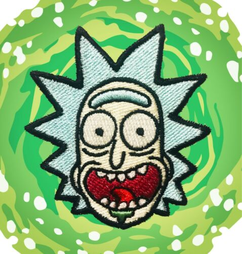 Rick /& Morty Rick Sanchez Iron-On Patch
