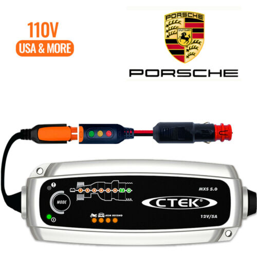 Porsche Cayenne Battery Charger Conditioner Trickle Charger