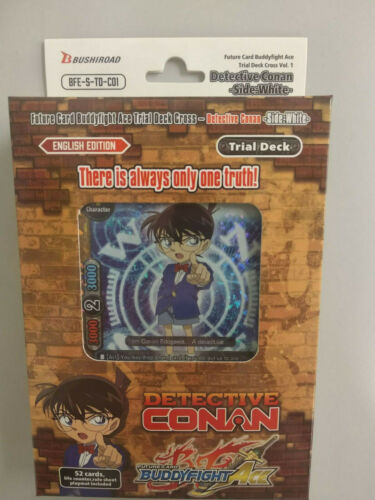 Future Card Buddyfight BFE-S-TD-C01 Detective Conan Side White Trial Deck