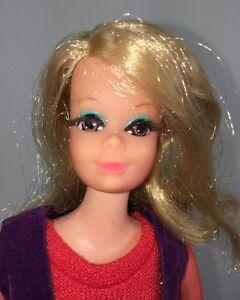 Rare-Vintage-Barbie-Live-Action-PJ-Doll-1156-w-Original-Outfit-1971