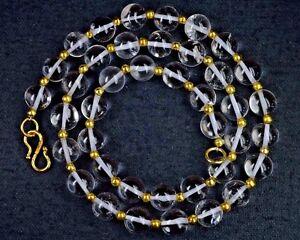 f3af3c91f2dc La foto se está cargando N-0141-Cristal-Piedra-Preciosa-Natural-Hermoso- Collar-