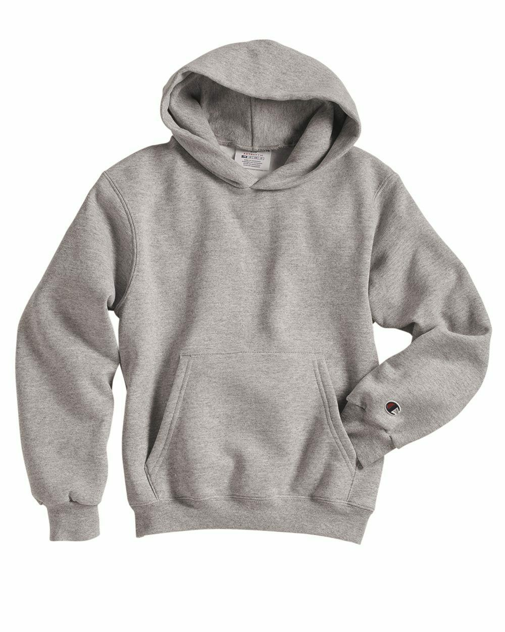 Unisex S-XL 8 COLORS Champion Youth Double Dry Action Fleece Pullover Hoodie