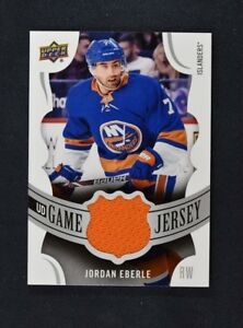 2018-19-Upper-Deck-UD-Series-1-Game-Jersey-Relics-GJ-EB-Jordan-Eberle