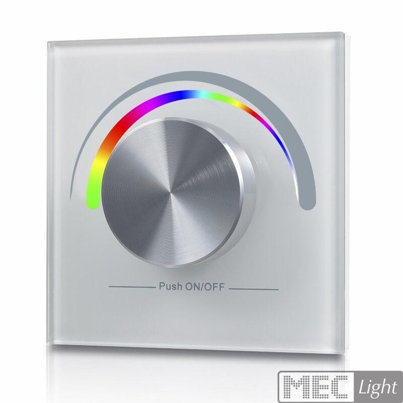 RGB LED Controller 1-Zone radio transmisor de parojo Controller (sr-2805rgb) blancoo