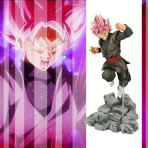 DBZ-Dragon-Ball-Z-Super-Saiyan-Rose-Son-Goku-Black-soul-X-soul-Figure-10cm-NoBox