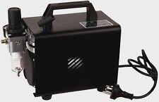 Mini Airbrush Kompressor Airbrushkompressor Ölfrei Kolbenkompressor Neu AS-18A