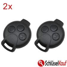 2X Autoschlüssel 3 Tasten Gehäuse passend für Smart 451 Fortwo Forfour Roadstar