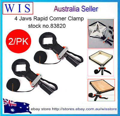 2/PK Multi-function Binding Belt Clamp Quick Adjustable Band Clamp Angle Clips