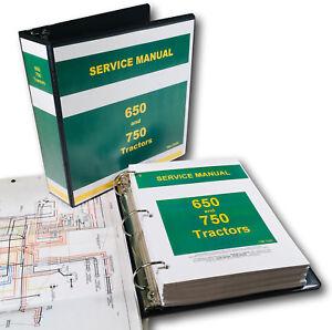 SERVICE-MANUAL-FOR-JOHN-DEERE-650-750-TRACTOR-TECHNICAL-REPAIR-SHOP-BOOK-OVHL