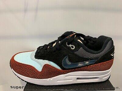 Details about Nike Air Max 1 SWIPA De Aaron Fox CJ9746 001 Blue Orange Mismatch GS Men 4Y 13