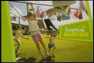 2009-INVENTIVE-AUSTRALIA-PRESTIGE-STAMP-BOOKLET-HILLS-HOIST-MINT-amp-PERFECT-Cond