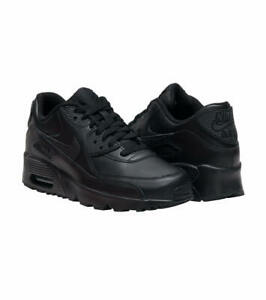 Details about Nike Air Max 90 LTR Big Kids GS Sneakers Black 833412 001