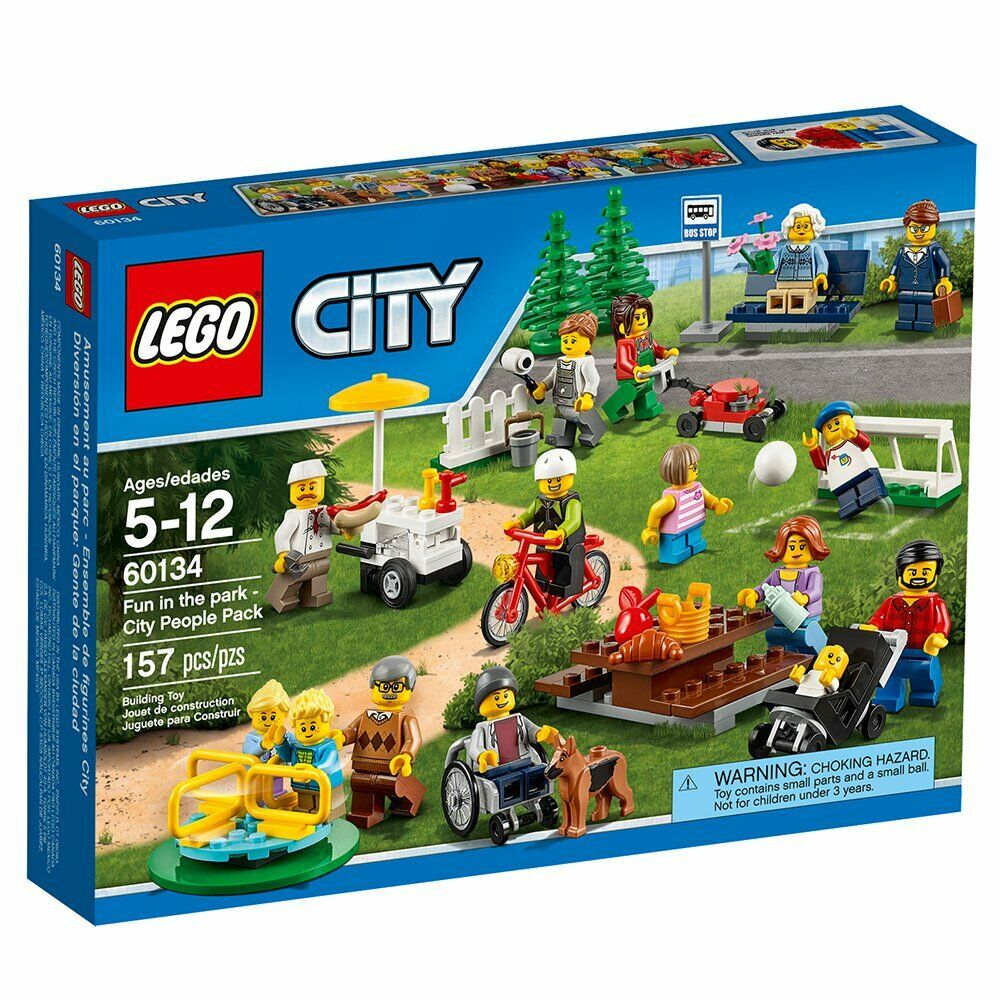 60134 Fun In The Park New /& Sealed LEGO City Town Recreation