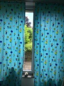 Details Zu Vorhange Kinder Baby Gardinen Kinderzimmer Vorhange Jungen 2 67 M Lang 1 33 M