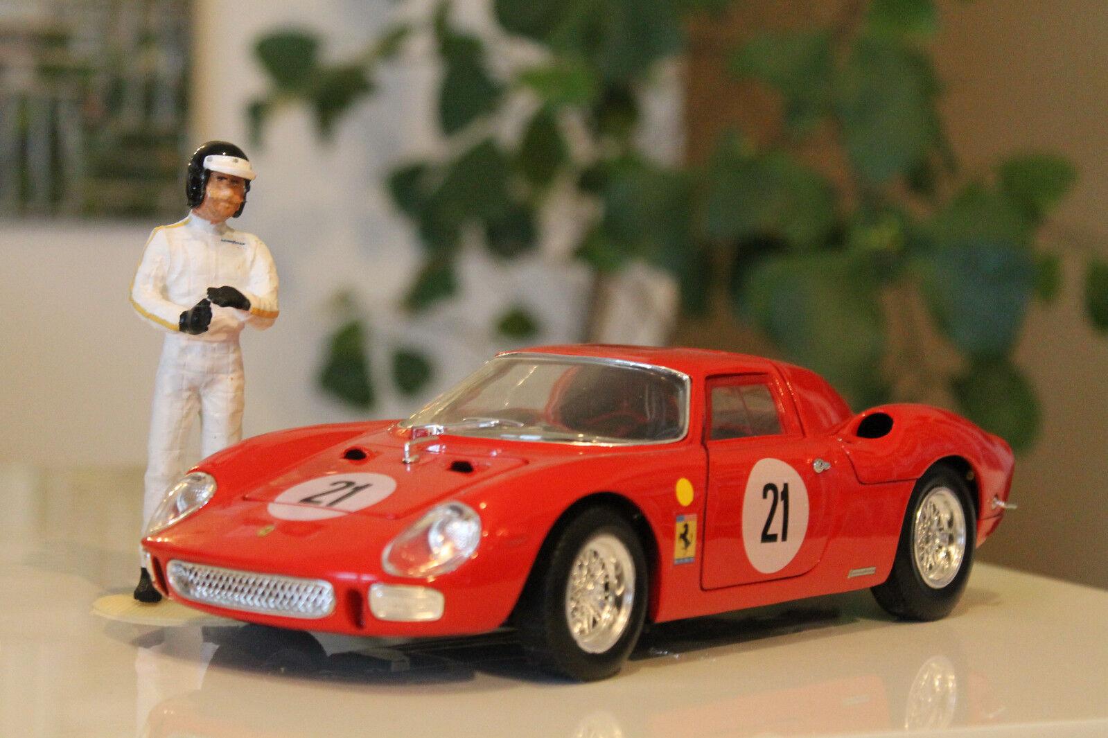 Le Mans Siegermodel 1965 Jochen Rindt Masten Gregory Ferrari 250LM 1 18 F1