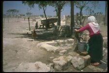 098042 Syrian Woman At Well Aleppo Syria A4 Photo Print