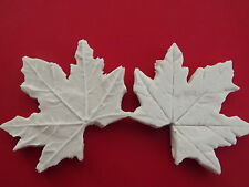 DOUBLE Maple Leaf VEINER Sugarcraft Stampo Torta Decorazione Food Grade