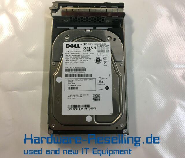 """Dell Fujitsu MBA3147RC 146GB SAS 3,5"""" 15K 3G 0XK111 CA06778-B20300DL"""
