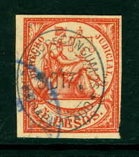 "Spanish PHILIPPINES 1866 REVENUE 5p Judicial stamp w/""RECARGO de CONSUMO"" SURCH."