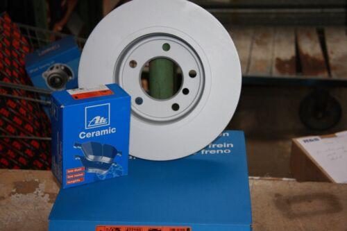 ATE Bremsscheiben und Ceramic Bremsbeläge mit Warnkontakt VW Polo 9N  Satz vorne