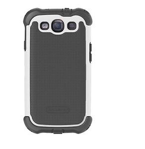 Ballistic-SX0932-M005-MAXX-Case-for-Samsung-Galaxy-S3-Grey-White-Free-Shipping