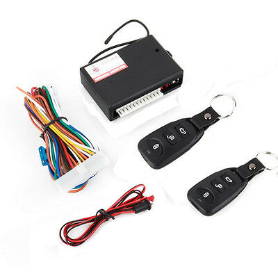 Universal Car Remote Central Kit Door Lock Vehicle Keyless Entry System Pop