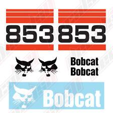 Bobcat 853 Skid Steer Set Vinyl Decal Sticker Aftermarket