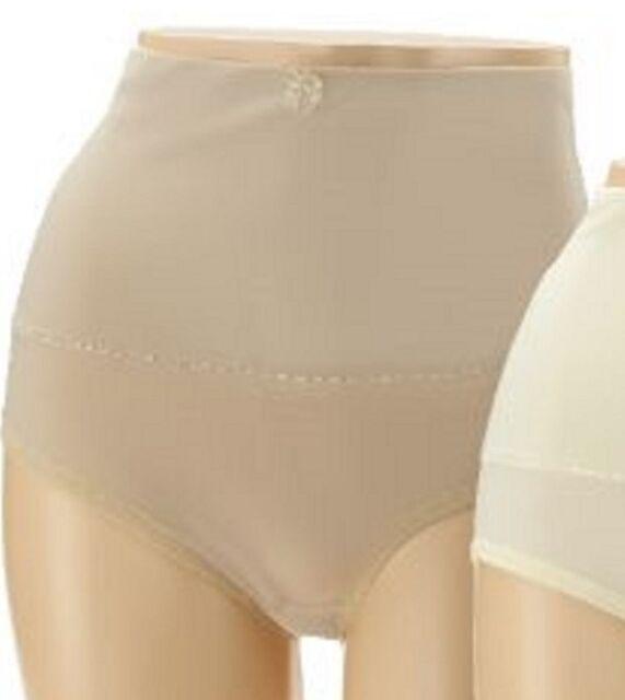 NWT Carol Wior Set of 3 Microfiber Panty w// Wide Control Belly Band A256596