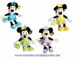 Disney-Mickey-Mouse-Minnie-Mouse-Plueschfigur-25-cm-original-Lizenzware-NEU