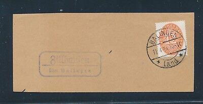 Herzhaft 23676 Landpost Ra2 Zillhausen über Balingen Briefstück 1934