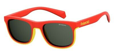 Modesto Occhiali Da Sole Sunglasses Polaroid Pld 8035 S C9a M9 Rosso Polarizzato 100% In Corto Rifornimento