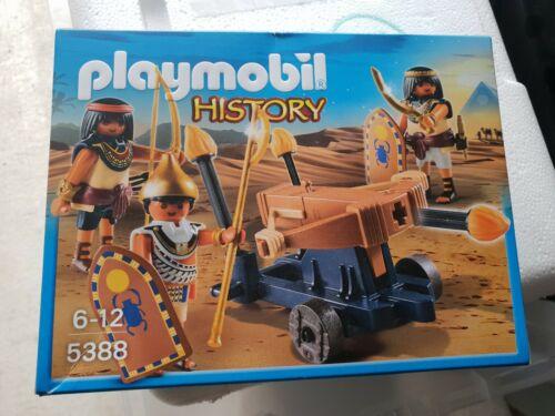 30 Pcs Playset l/'histoire égyptienne troupe avec catapulte playmobil 5388