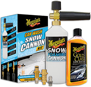 Meguiars Car Wash Snow Cannon Kit