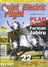 QUIET & ELECTRIC FLIGHT INTERNATIONAL MAGAZINE 2005 DEC FARMAN JABIRU, 3D-RED