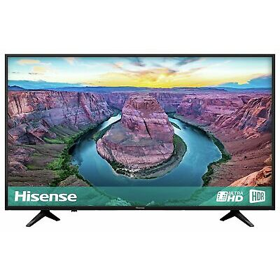Hisense H43AE6100UK 43 Inch 4K Ultra HD HDR Smart WiFi LCD TV - Black.