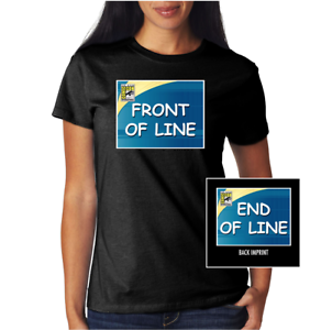 San Diego Comic Con SDCC @HOME Front / End of Line Shirt WOMEN'S 2XL or 3XL