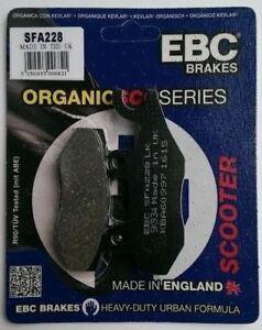 Peugeot Satelis 250 SFA350 AJP // 2007 to 2012 EBC Organic REAR Brake Pads