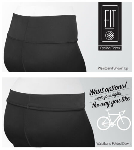 Aero Tech Designs Women/'s FIT Century Thrive PADDED Cycling Tights Made in USA